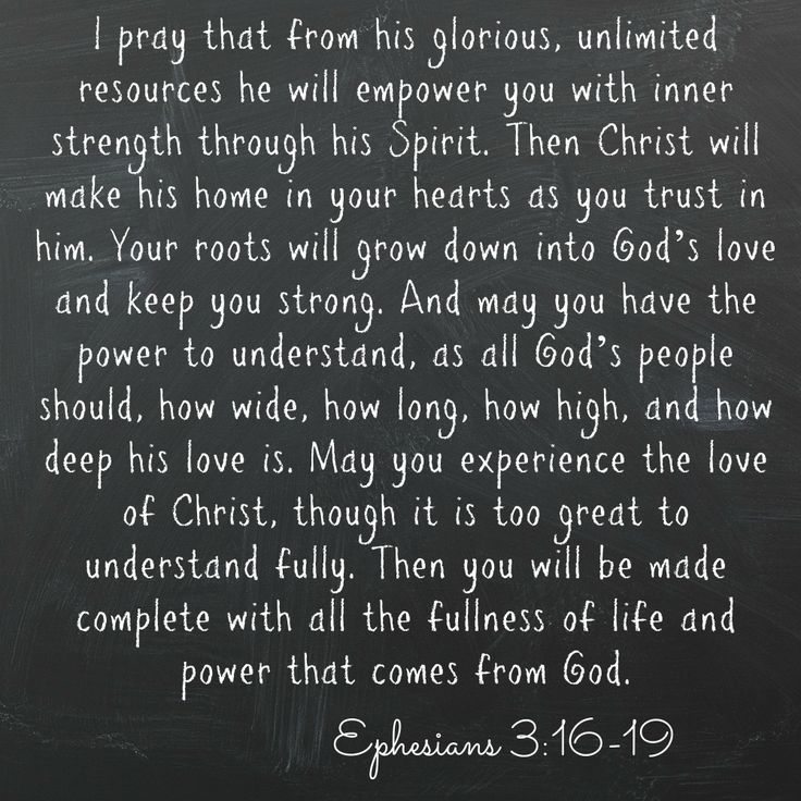 Praying Ephesians 3:16-19 over you. #BeLoved #Amen