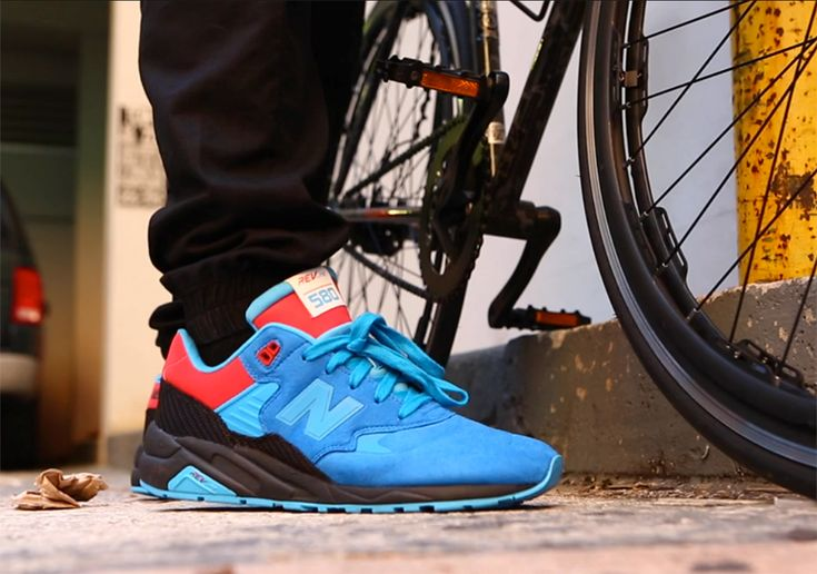 """Glad to see the MT80 back at the forefront of New Balance collaborations? We definitely are. Bringing back this highly popular model to the forefront is Miami's Shoe Gallery, which takes the Tour de France event and gives it a local spin. Titled the """"Tour de Miami"""", this New Balance MT580 features royal blue, red, [&hellip"""