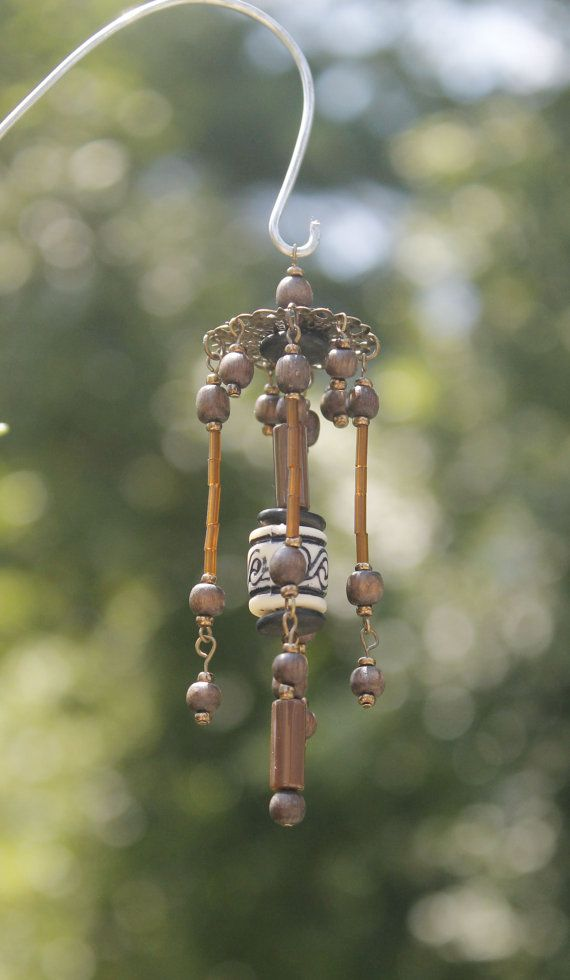 Miniature Fairy Garden Wind Chime Dollhouse by