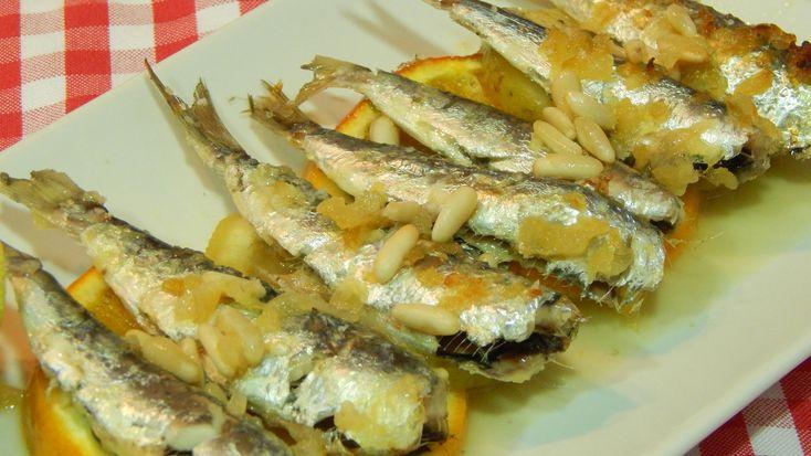 Receta de sardinas al horno a la Valenciana
