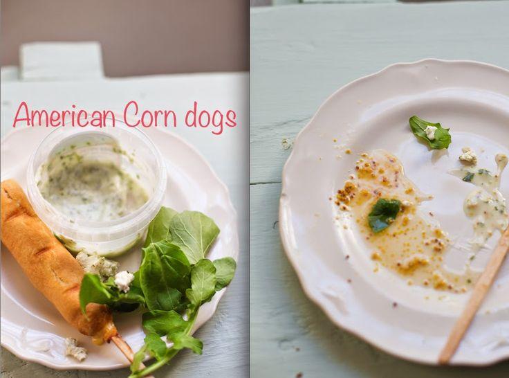 American corn dogs (no recipe)