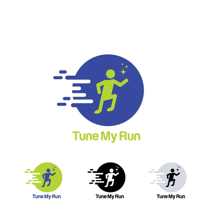 This is my logo design for tune my run. Based app of music for support our sport activity