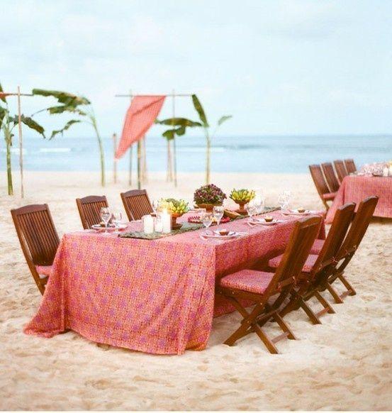 Beach weddingWedding Beach, Romantic Wedding, Beach Wedding Receptions, Wedding Ideas, Beach Parties, Dinner Parties, At The Beach, Beach Wedding Photos, Beach Weddings