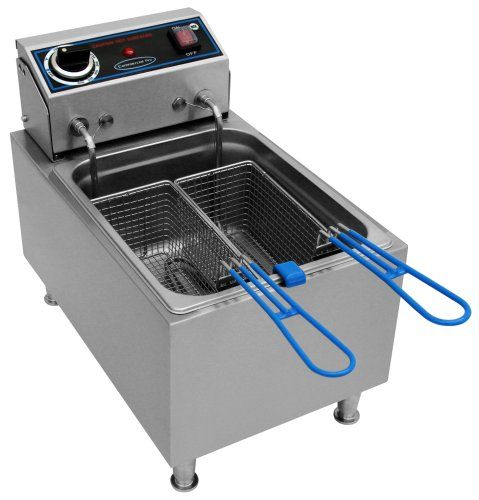 Commercial Pro CPF10 Electric 10-Pound-Capacity Deep Fryer >>> Click image for more details. #DeepFryers