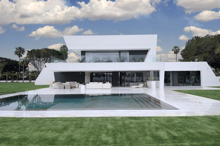 1000 images about fachadas de casas modernas en pinterest - Arquitecto sotogrande ...