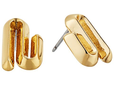 Eddie Borgo Trace Studs Earrings