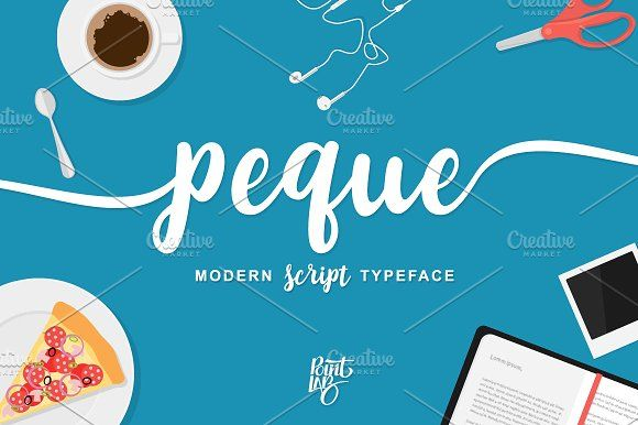 peque script by pointlab on @creativemarket