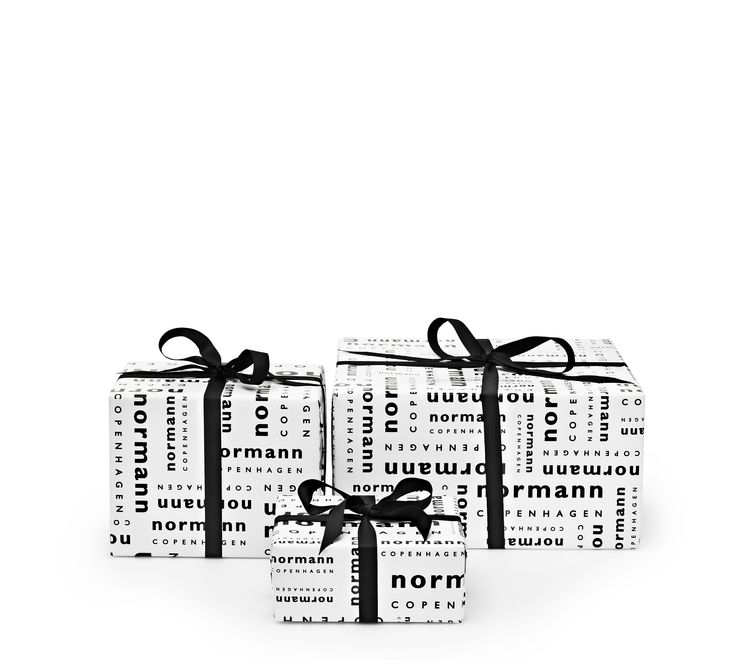 We wrap up the christmas presents for you | Shop them online at Normann Copenhagen