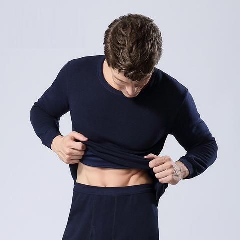 [EBay] Winter Mens Warm Thermal Underwear Mens Long Johns Sexy Black Thermal Underwear Sets Thick Plus Velet Long Johns For Man