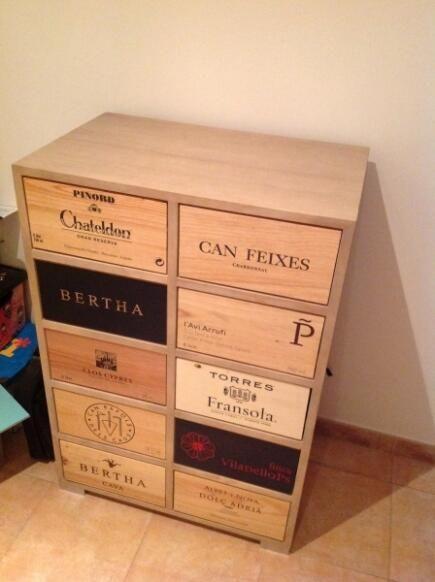 26 best Muebles para el vino images on Pinterest | Bottle rack ...