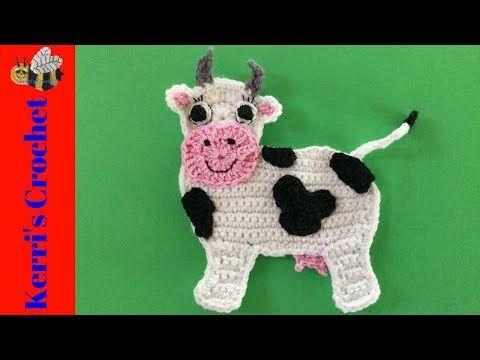 Tutorial vaca amigurumi cow english subtitles : Best crochet cows images crochet cow chrochet