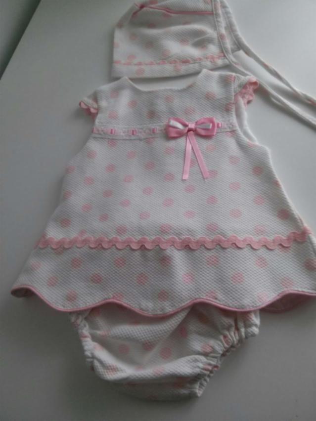 Resultado de imagen de vestido niña recien nacida  7433b9506b09