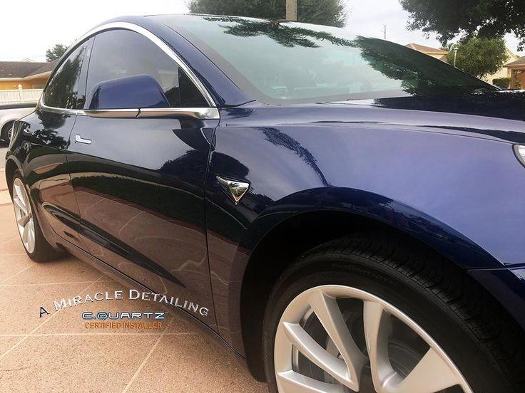 2018 Tesla Model 3 A Miracle Detailing CQuartz
