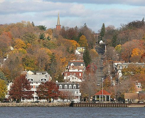 Cold Spring, NY - my birthplace, is that beautiful or what?