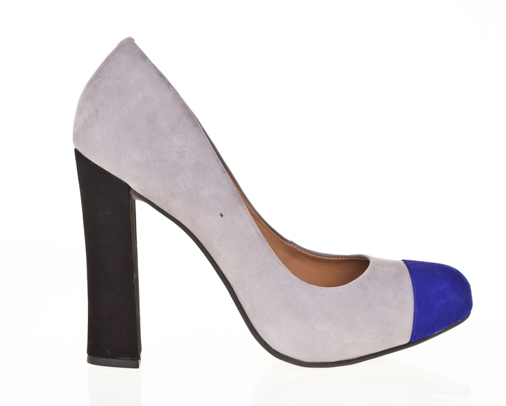 Toe cap block heel from Capsule Collections