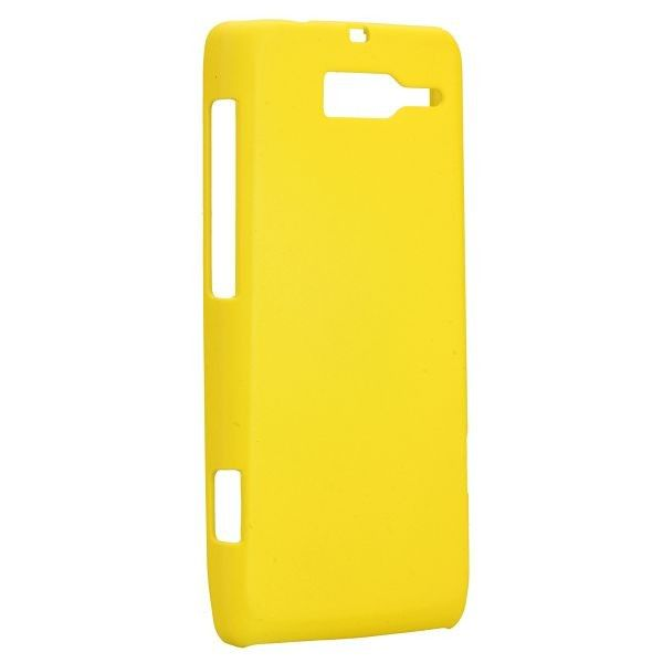 Hard Shell (Gul) Motorola DROID RAZR M Deksel