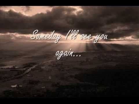 you and will meet again song meaning