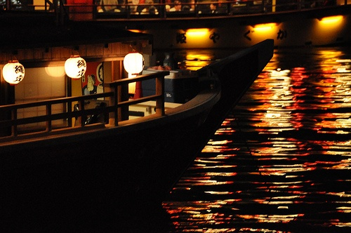 Japanese houseboat -屋形船@東京湾-