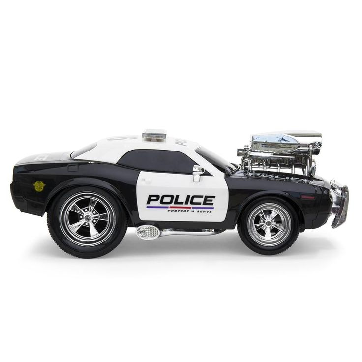Best Choice Products 2.4 GHz Remote Control Police Car w/ Lights, Rechargeable Batteries, USB Cable