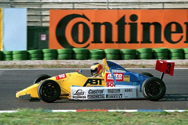 Buon 39. compleanno a Ralf Schumacher, qui nel 1993 nel campionato Formula ADAC Junior...