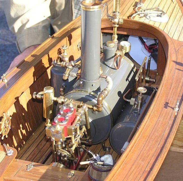 Model Marine Steam Engines - Twin cylinder marine engine