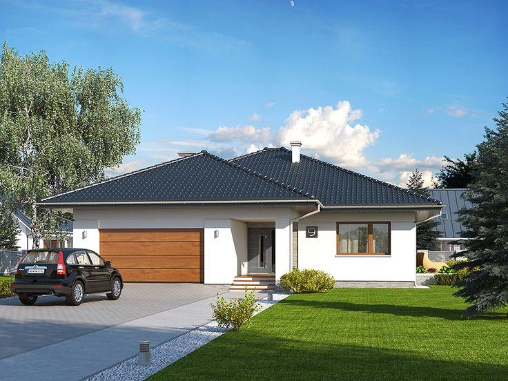 DOM.PL™ - Projekt domu MT Ariel paliwo stałe CE - DOM MS2-12 - gotowy projekt domu