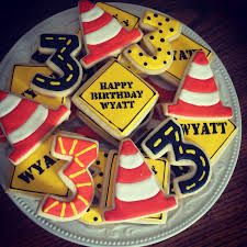 Image result for construction theme cookies