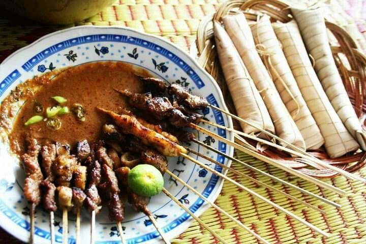 Sate Bulayak Khas Lombok Resep Masakan Indonesia Makanan Pedas Makanan