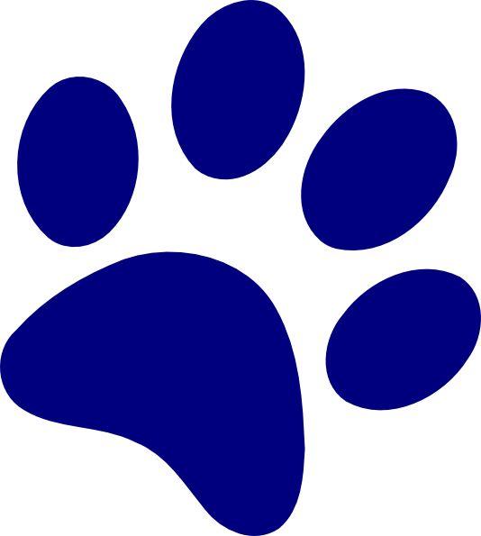 Bobcat Paw Print Clip Art