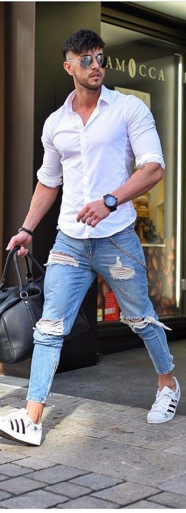 9 Inspirierende Flughafen-Outfits für Guy zum Ausprobieren