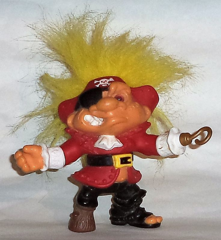 Cap´N Troll, Battle Trolls, Hasbro 1992.
