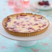 Raspberry sour cream tart from Chelsea NZ; http://www.chelsea.co.nz ...