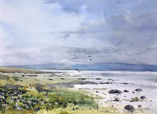 Lindisfarne by northern irish painter grahame booth for Garden design ideas northern ireland