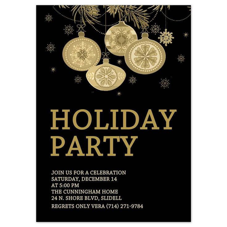 The 25+ best Holiday party invitation template ideas on Pinterest - free xmas invitations