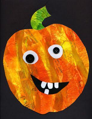 mixed media pumpkins {file under: art}