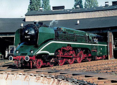 BR 18 201 te BW Nürnberg 1985. -