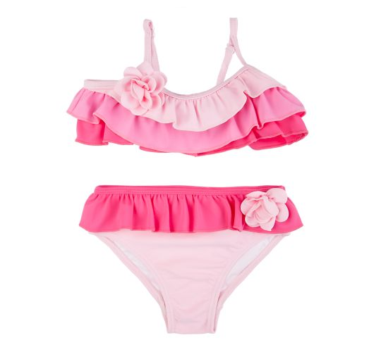 JUICY COUTURE KIDS - Βρεφικό μαγιό Juicy Couture ροζ