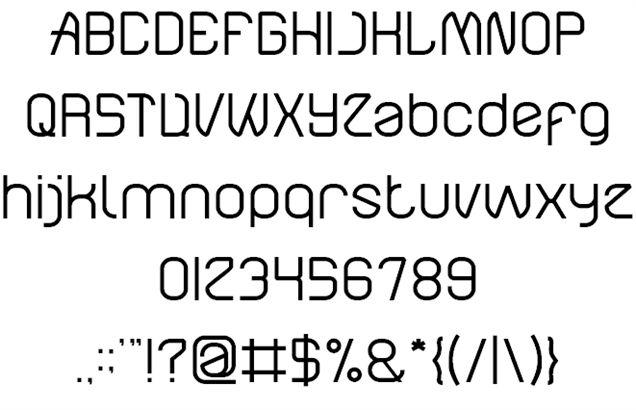 Image for Electro Static RAIN font