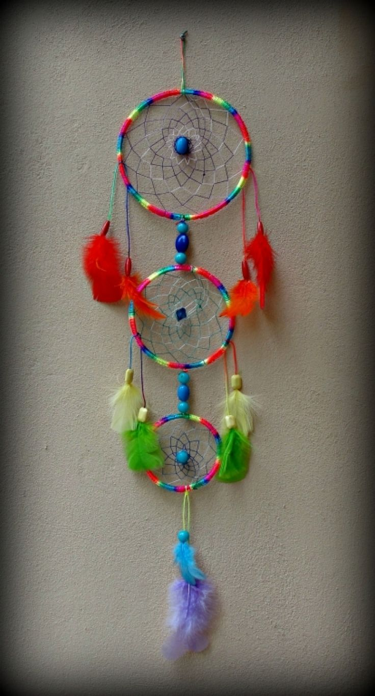 "Dreamcatcher+""Rainbow+colours"""