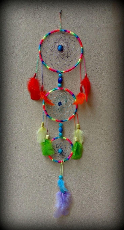 """Dreamcatcher+""""Rainbow+colours"""""""