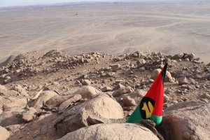 Bir Tawil. Terra nullis - the remote scrap of unclaimed land in Africa that no one wants.