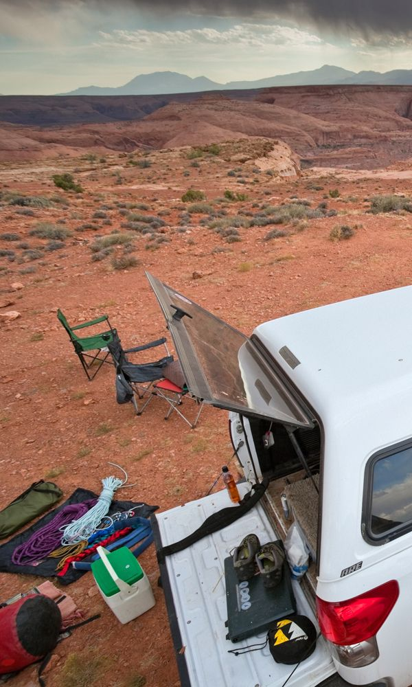Gear Guy - Outside Magazine How to turn your truck into a mobile adventure home.