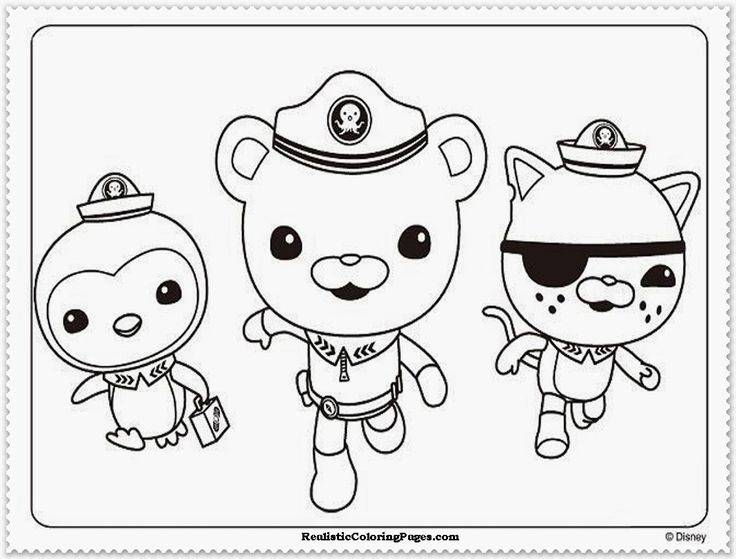 octonauts coloring pages - coloring pages to print octonauts octonauts coloring