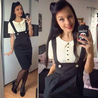 @Regrann от @badkitty_chuchu - не удержался вчера на 50% продажи в miss-mole.de 🙊 один из двух прекрасных платья Линди Боп прибыли 😻 в любви... - пинап-моде (@кинозвезды.мода)