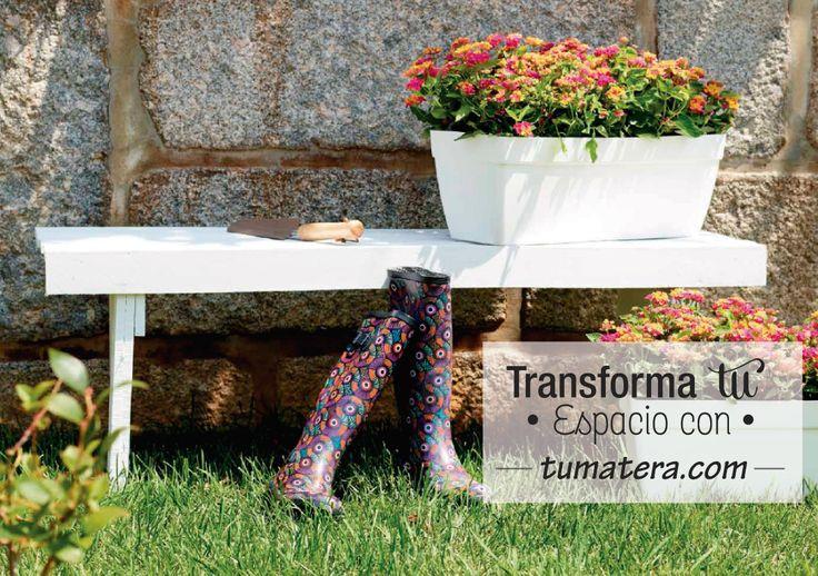 Jardinera con diseño Capri, desarrollada para facilitar el mantenimiento de las plantas. Encuentralas en: http://www.tumatera.co/products/mpa-501918-jardinera-capri/