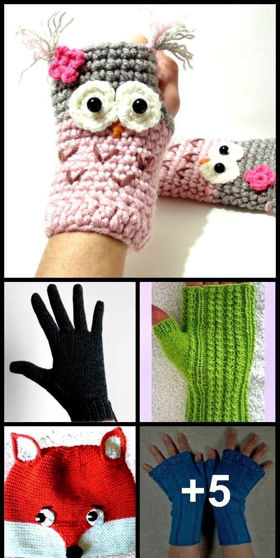 Touchscreen Handschuhe Weich Winter Herren Damen SMS Kappe Aktiv Knit eoHpr
