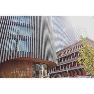 Amazing blending of new and old for the new City of Perth Library...