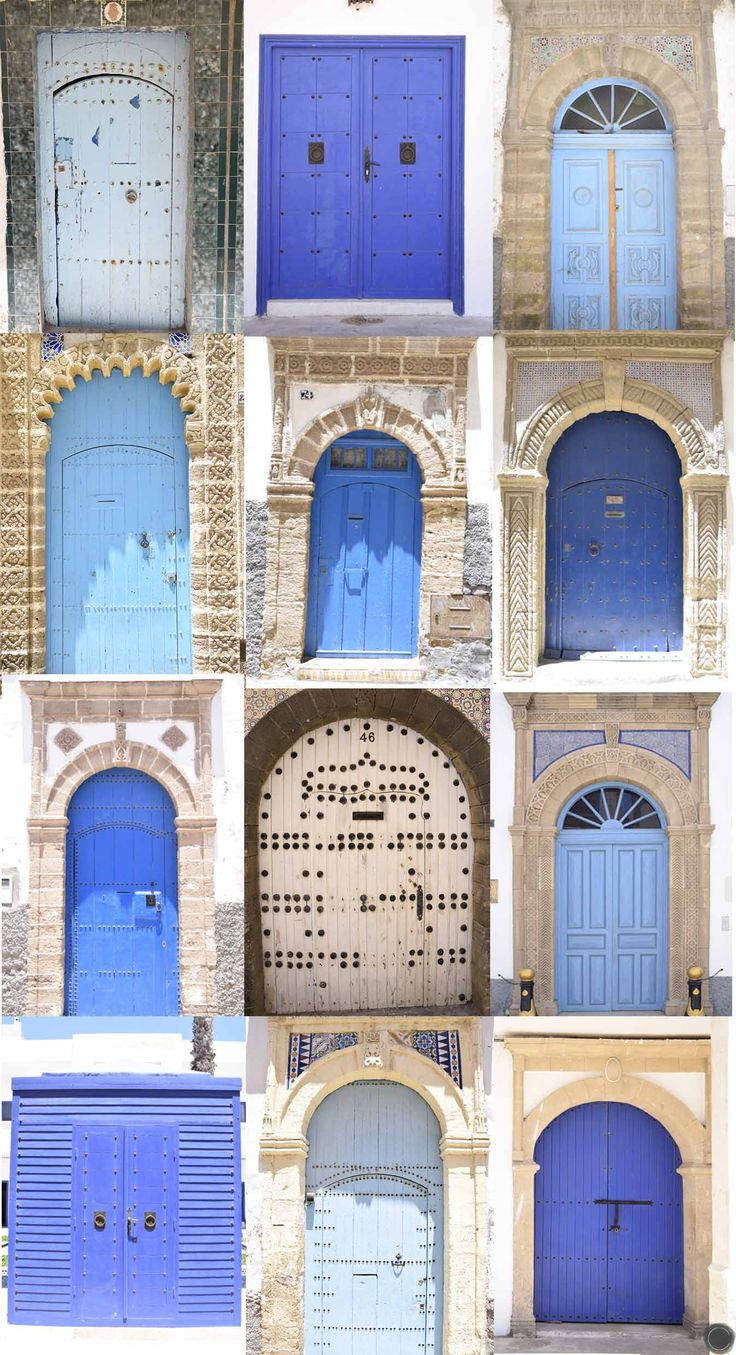 portes bleues  à Essaouira  / @cbyclemence
