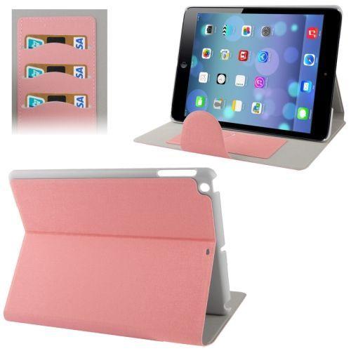 Roze hoes met standfunctie voor je Apple Ipad Air