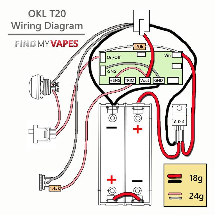 Diy Okl T20 Box Mod Kit